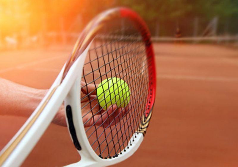 Bereit für den Aufschlag im Tennisverein TV Rellinghausen