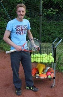 Christian Jung: Jugend-Trainer des TV Rellinghausen Tennis