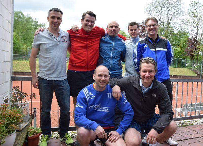 Herren-Mannschaft 30 des TV Rellinghausen Tennis in Essen