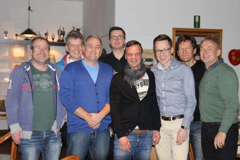 Herren-Mannschaft 40 des Tennisvereins TV Rellinghausen in Essen