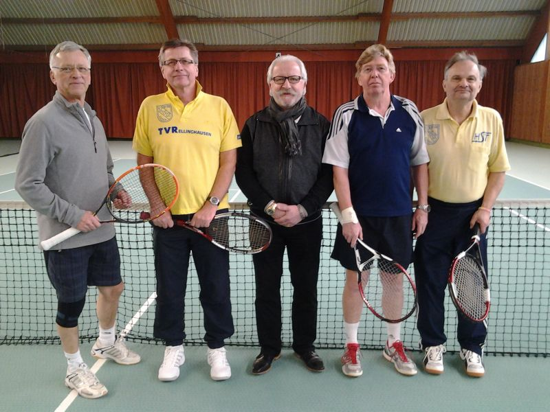Herren-Mannschaft 60 (2) des Tennisvereins TV Rellinghausen in Essen
