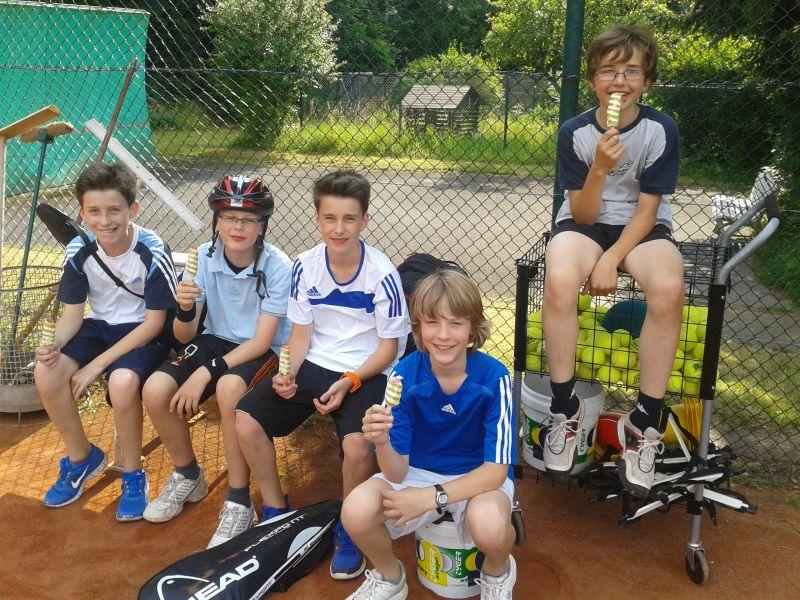 Jugendbereich des TV Rellinghausen Tennis