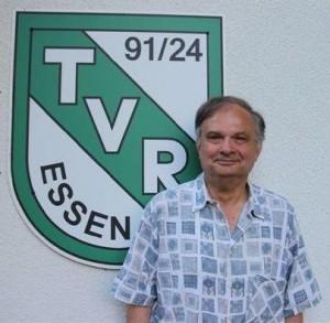 Peter Neudeck: Sportwart und kommissar. Jugendwart des Tennisvereins TV Rellinghausen in Essen